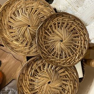 SET (3) flat lay baskets